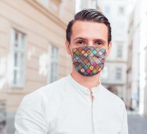 masques tissu lavable